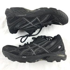 Asics GT-2150 Black Running Walking Shoes T055N